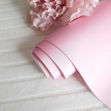 Кожзам матовый шелк розовый 30 х 70 см