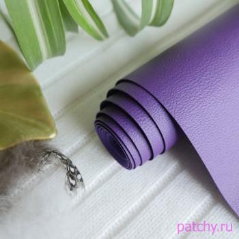 Переплетный кожзам под кожу фиолетовый