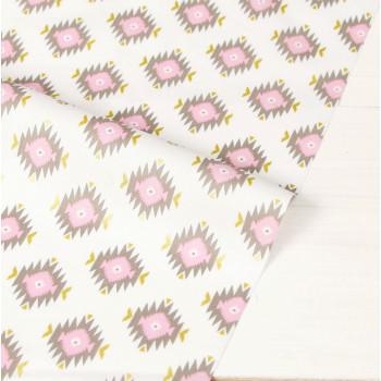 Ткань хлопок Glitz Garden: Glitzy Diamond Pink
