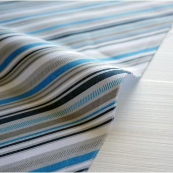 Ткань хлопок Play Ball 2 Blue Stripe
