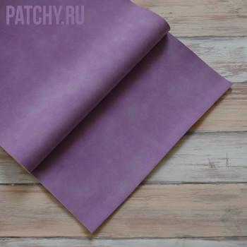 Искусственная замша фиолетовая