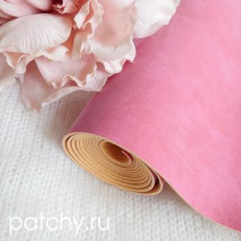 Искусственная замша розовая