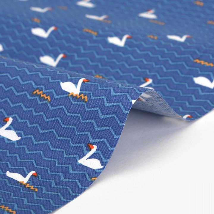 Ткань хлопок 530 Duck duck
