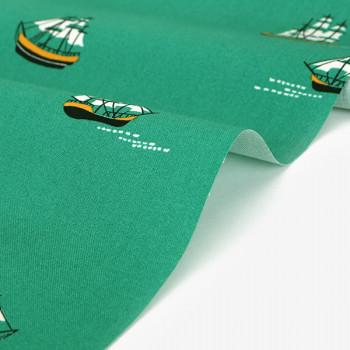 Ткань хлопок 533 A vast ocean ship