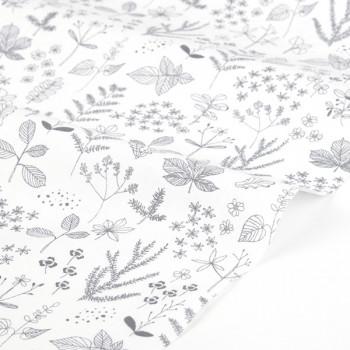 Ткань хлопок 59 Nature  leaf