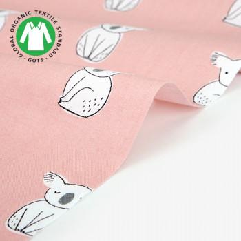 Ткань хлопок 479 Organic cotton koala