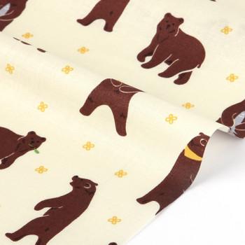 Ткань хлопок 171 Through the forest - grizzly