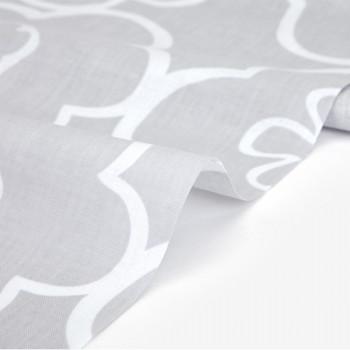 Ткань хлопок 431 Blossom  flowery gray