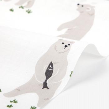 Ткань хлопок 329 Joyful bear