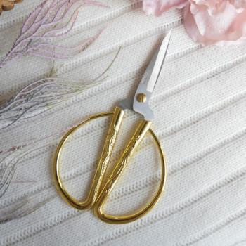 Ножницы средние для ручной работы-золото