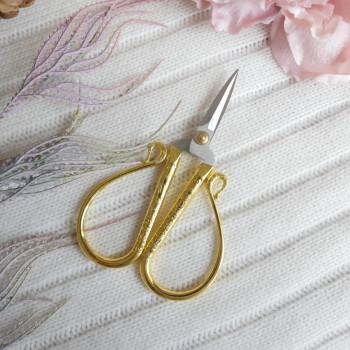 Ножницы миди для ручной работы-золото